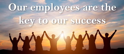 Employees are the key to our success