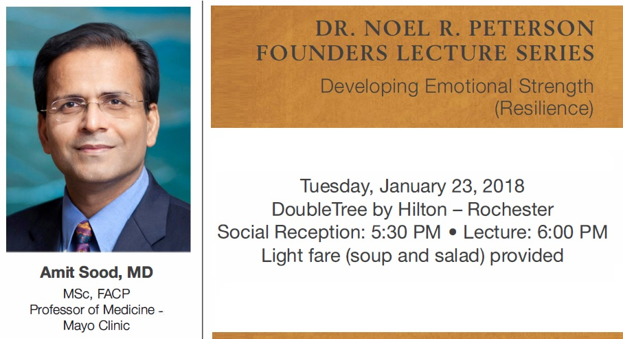 Founders Lecture series topic