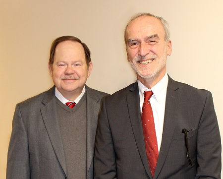Photo of Dr. Babovic and Dr. Clay