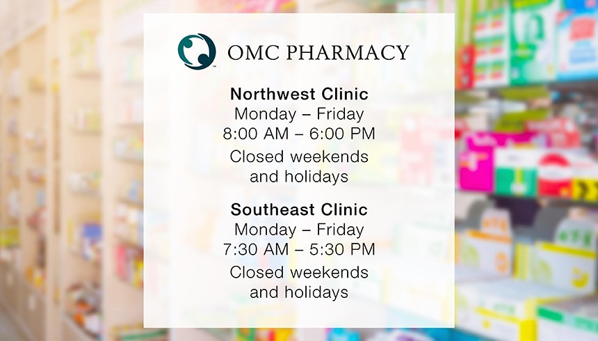 Pharmacy Services Hours